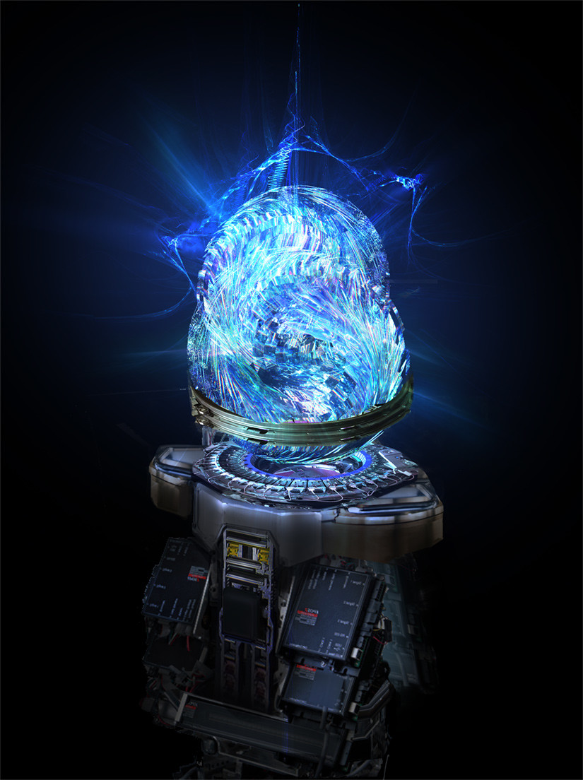 the Crystal Matrix: a device able to hold consciousness.