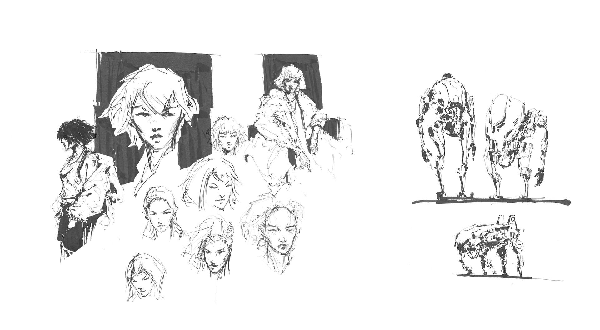 Kobe sek chr sketches