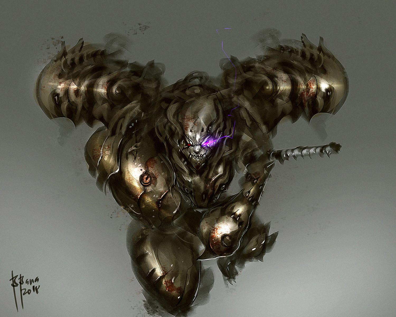 Samurai Demon Baal