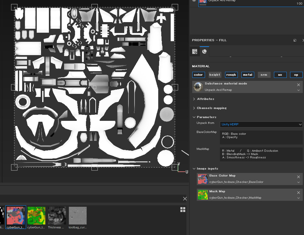 ArtStation - Unpack and assign textures from Unity, UE4 PBR to