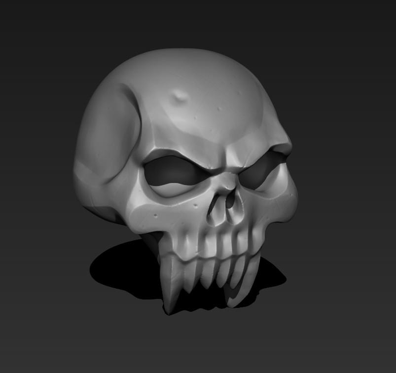 Toby hynes skull 01