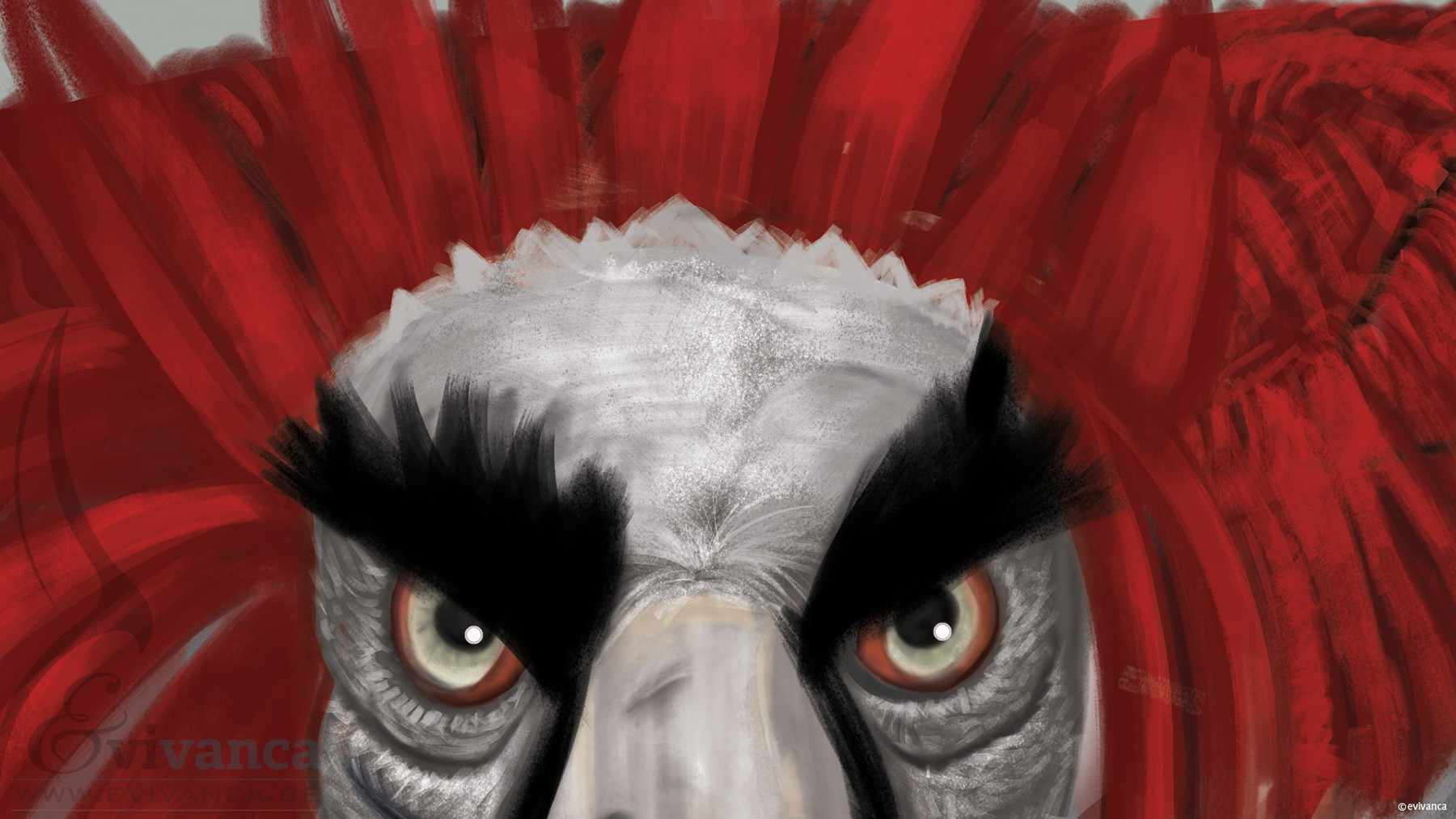 Evivanca evivanca badass paintingcloseup1