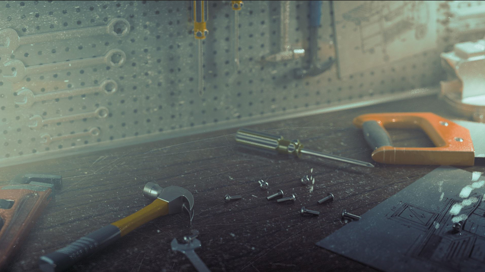 Tool Bench - Cinema 4D and Redshift