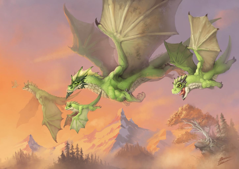 Bruno cesar green dragon int
