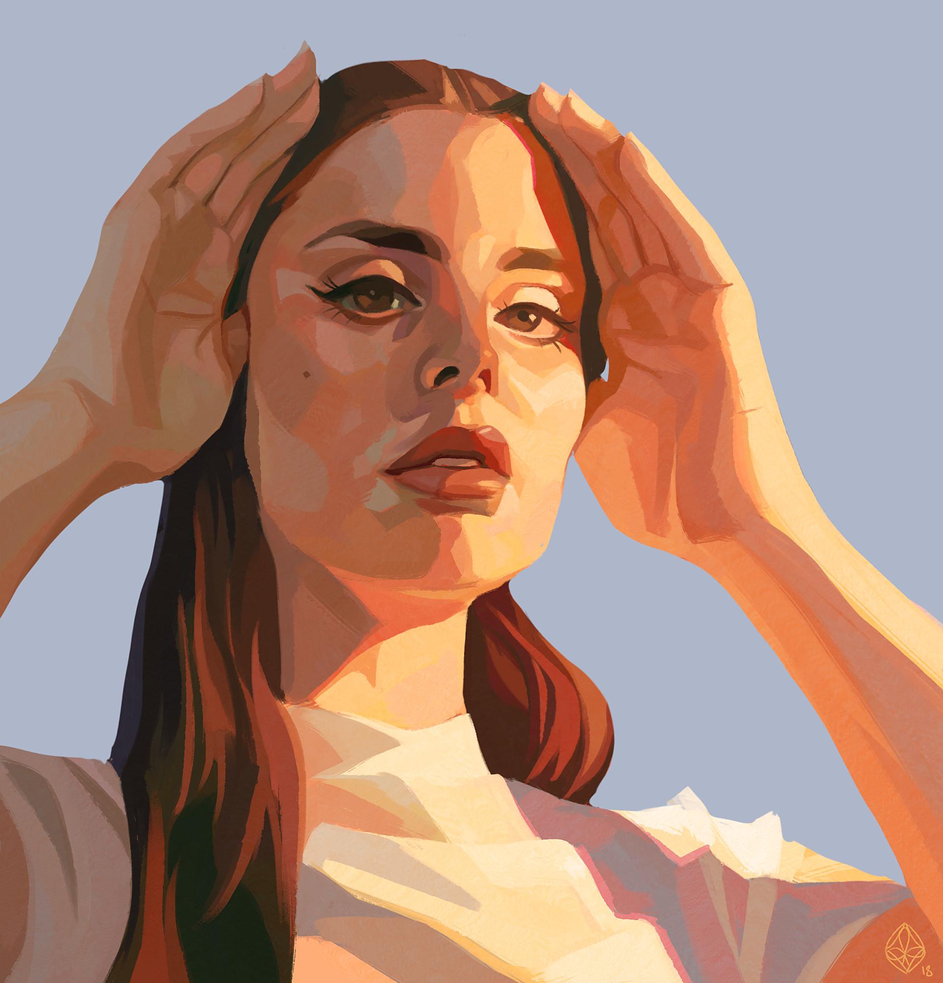 Artstation Lana Del Rey Brother Thunder
