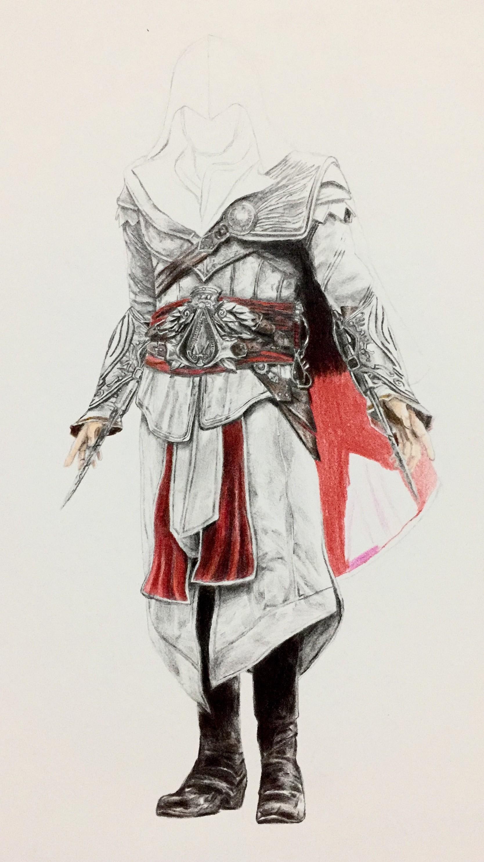 Artstation Ezio Auditore Fan Art Rexton