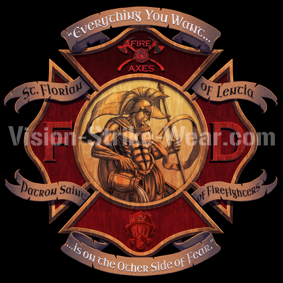 St. Florian Coin design