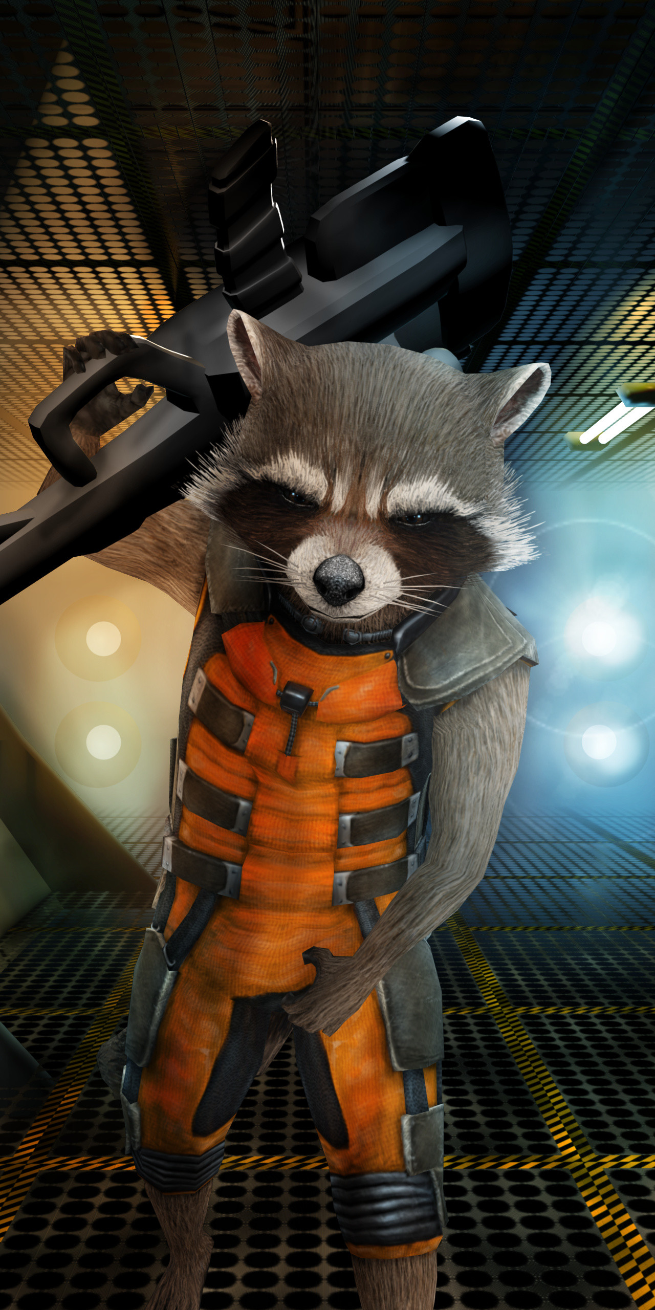 Justin Ethington - Rocket Raccoon Unreal Tournament 2004