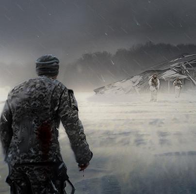 Travis lacey concept art military winter blizzart travis lacey web