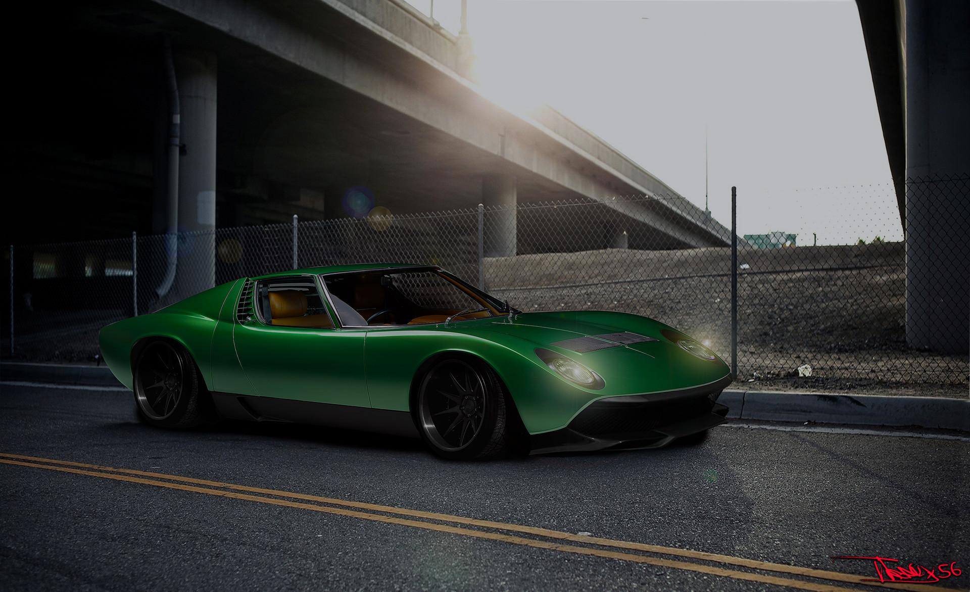 Alessandro Noemi Lamborghini Miura Virtual Tuning