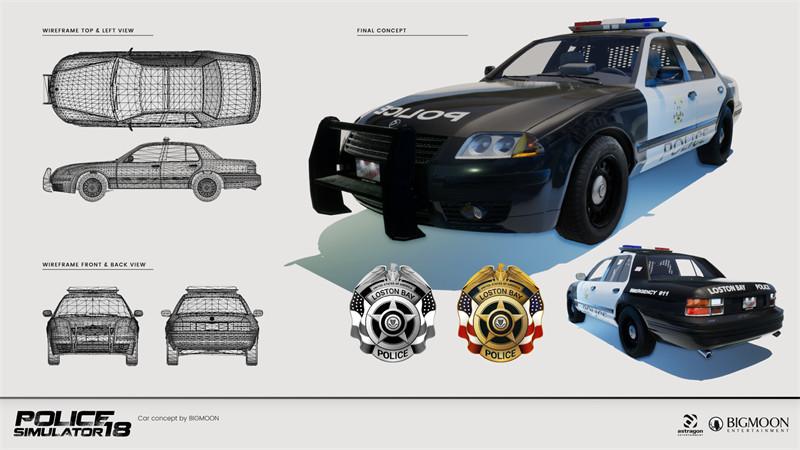 ArtStation - Police Simulator , Jorge Manassés