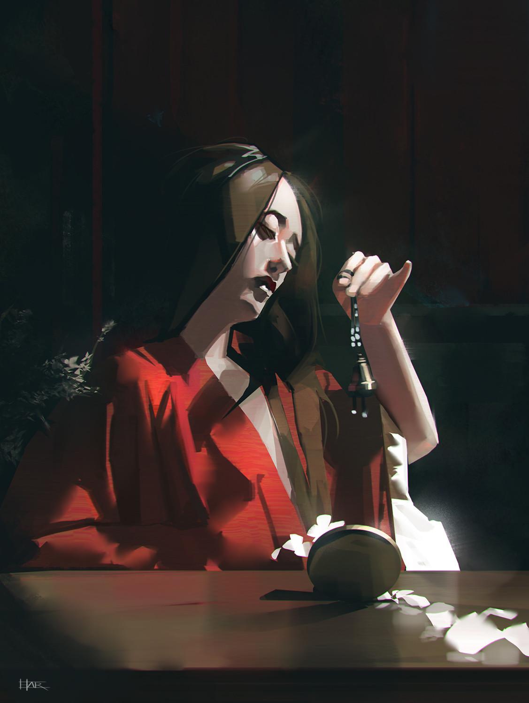 Red Vanity