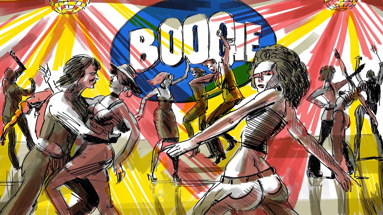 Boogie-story board