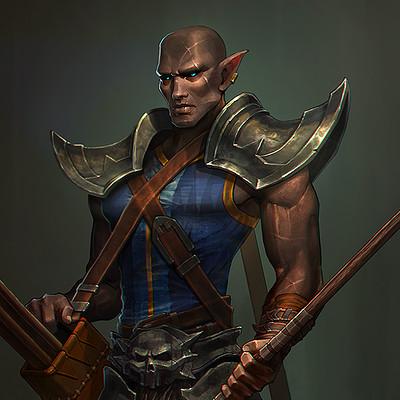 Francis brunet dark javelins