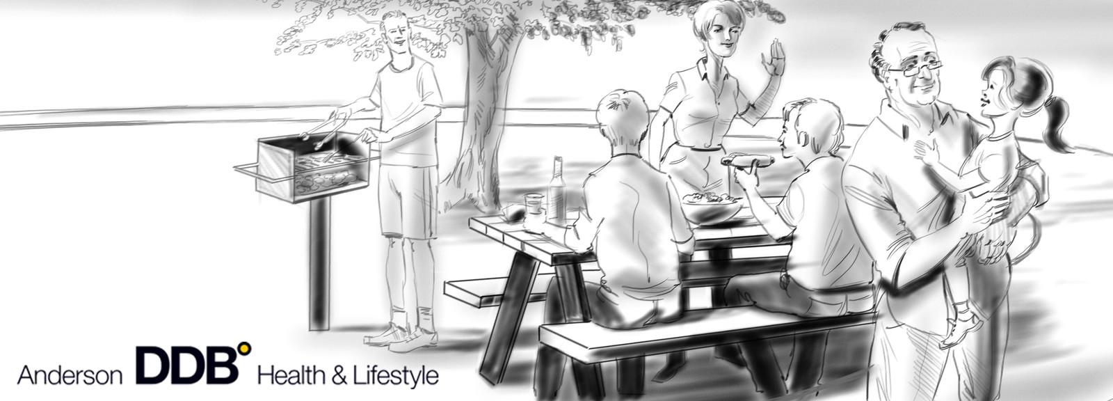 Anderson DDB heath & lifestyle brand story