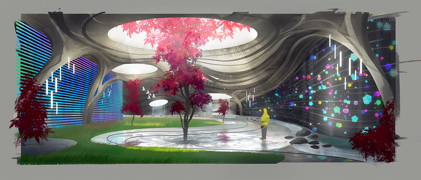 Izaak moody project canterbury atrium