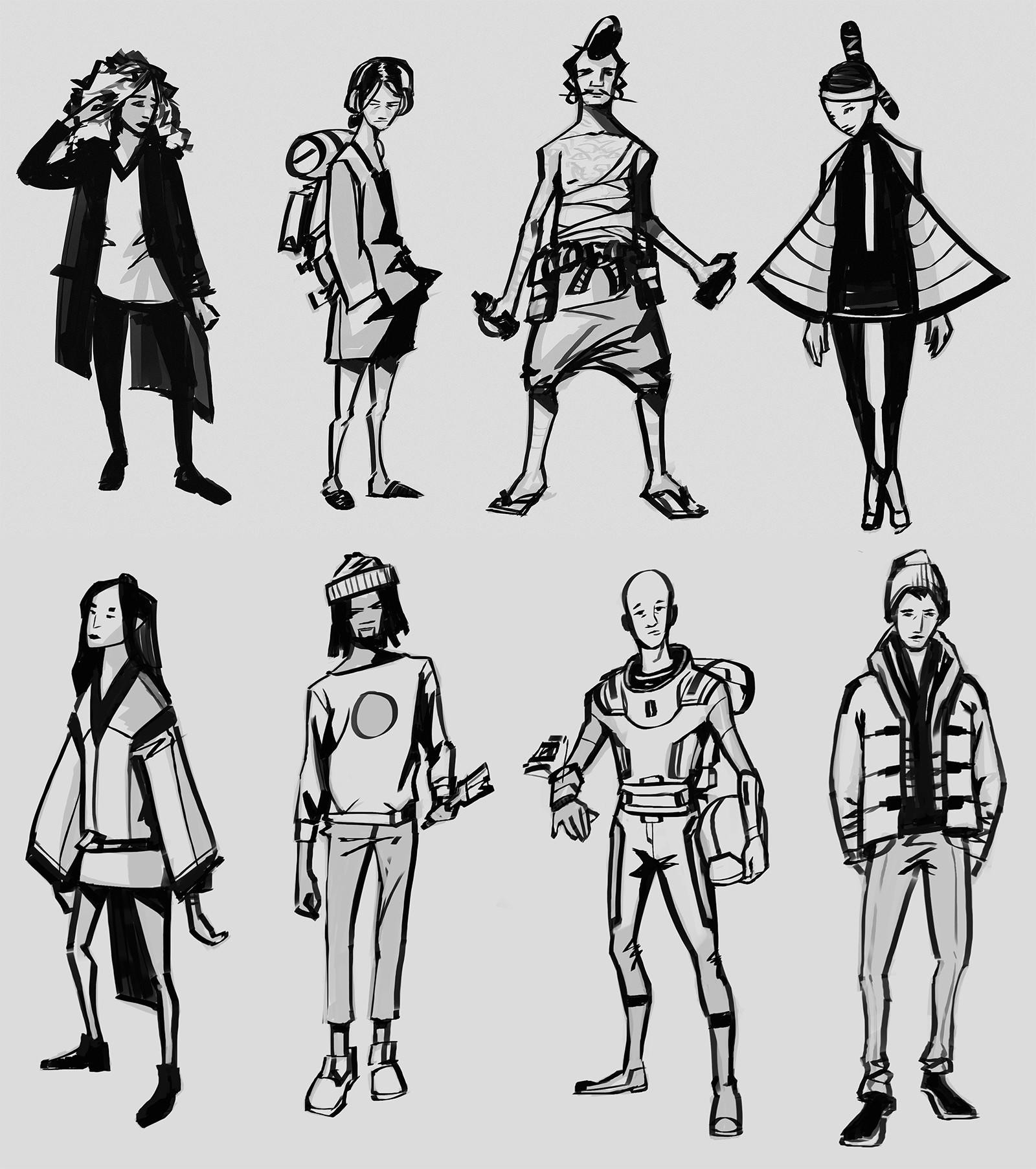 Izaak moody project canterbury characters