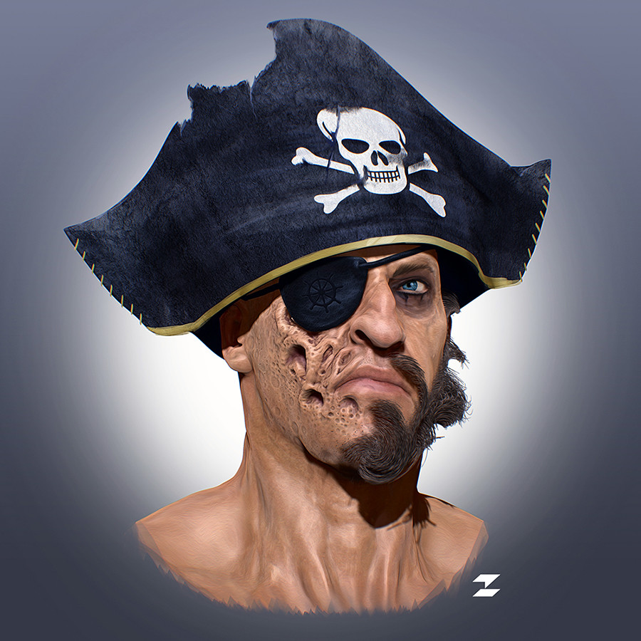 Tomislav zvonaric pirate by tomajestic lr