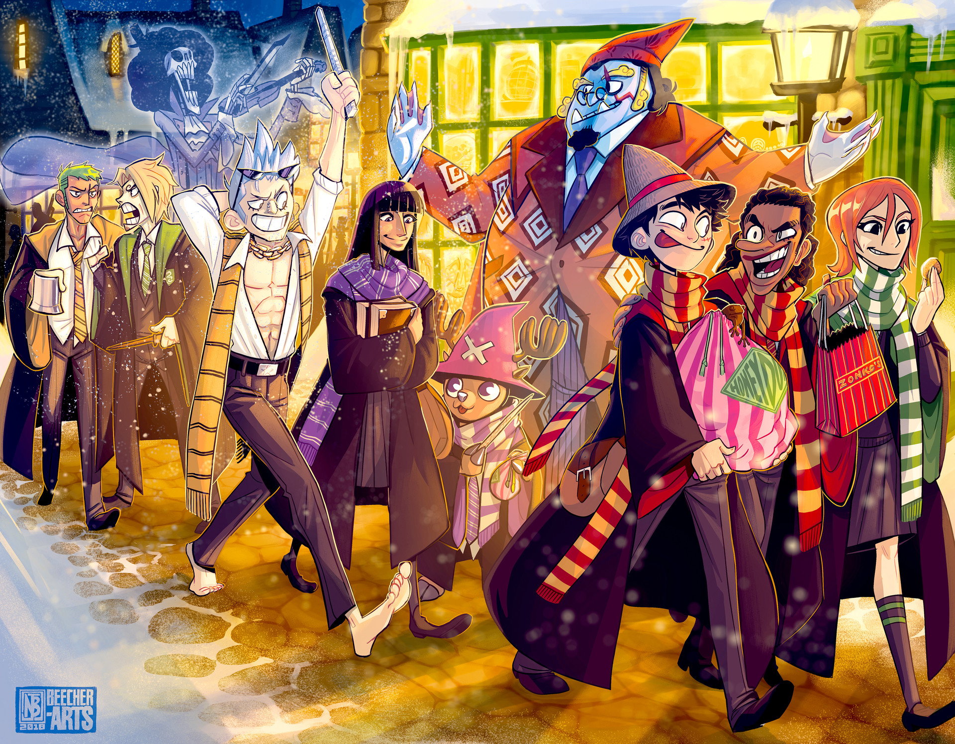 Harry Potter Crossover One Piece
