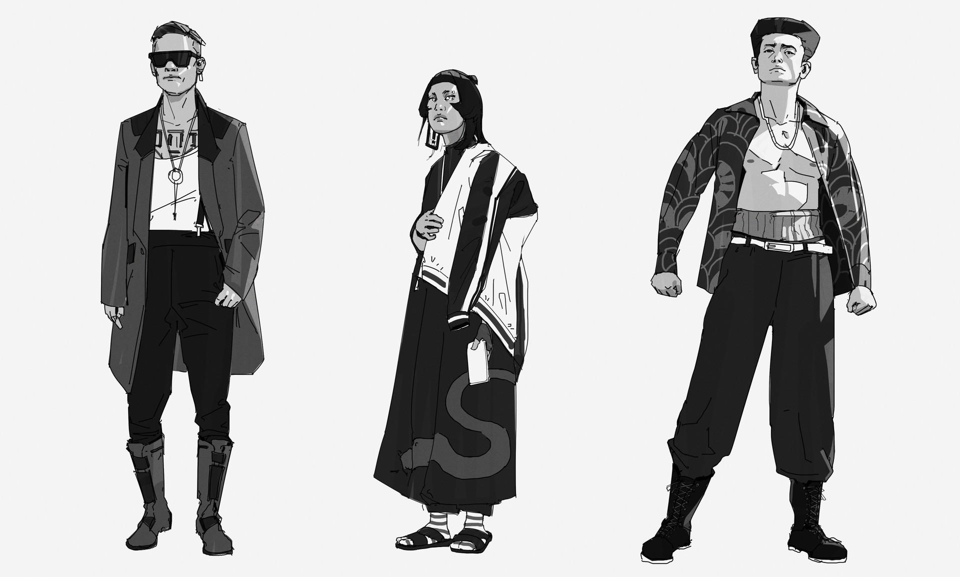 Jx saber characters 1