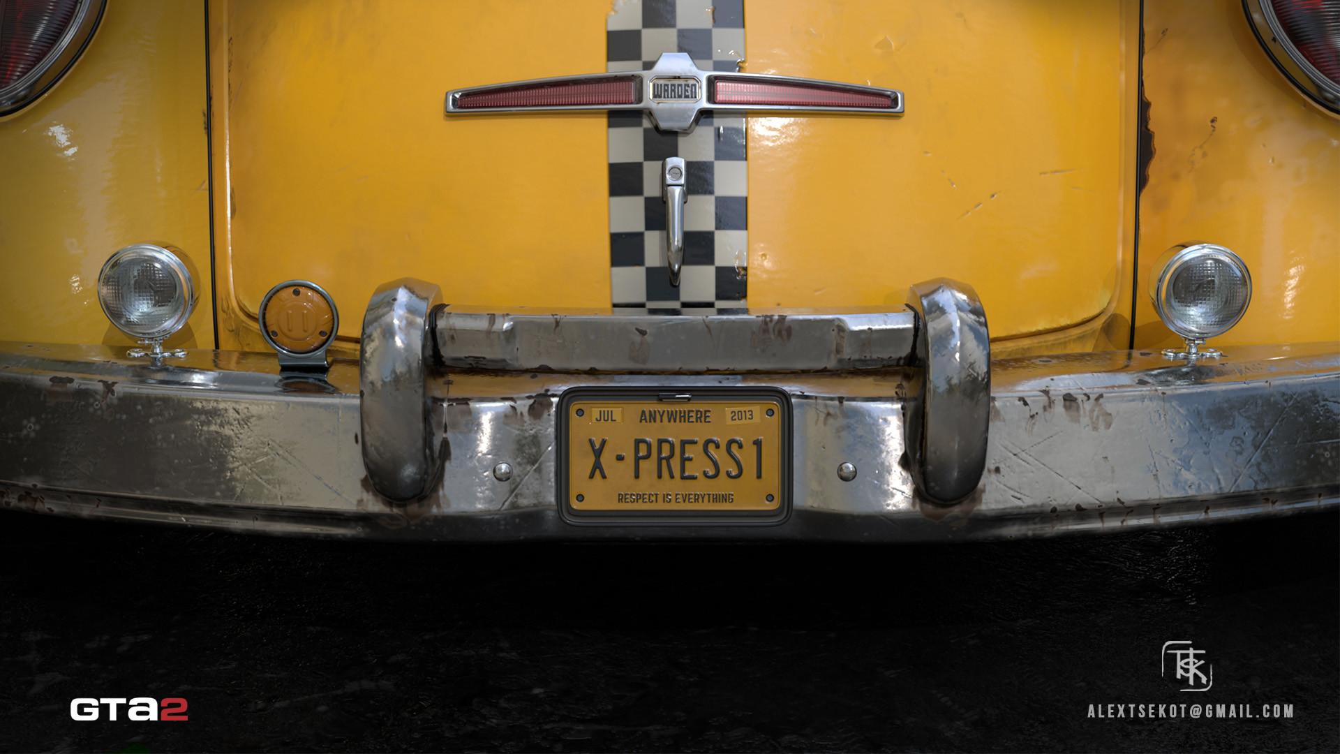 Alex tsekot taxi xpress 7