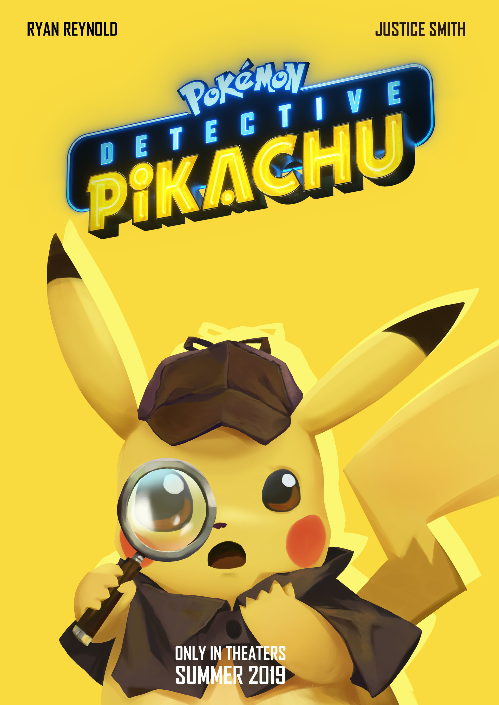 Detective Pikachu Movie Concept Art Contest