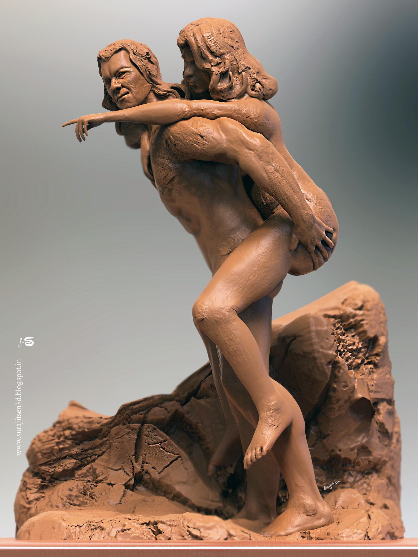 Surajit sen that way speed digital sculpt study surajitsen jan2019
