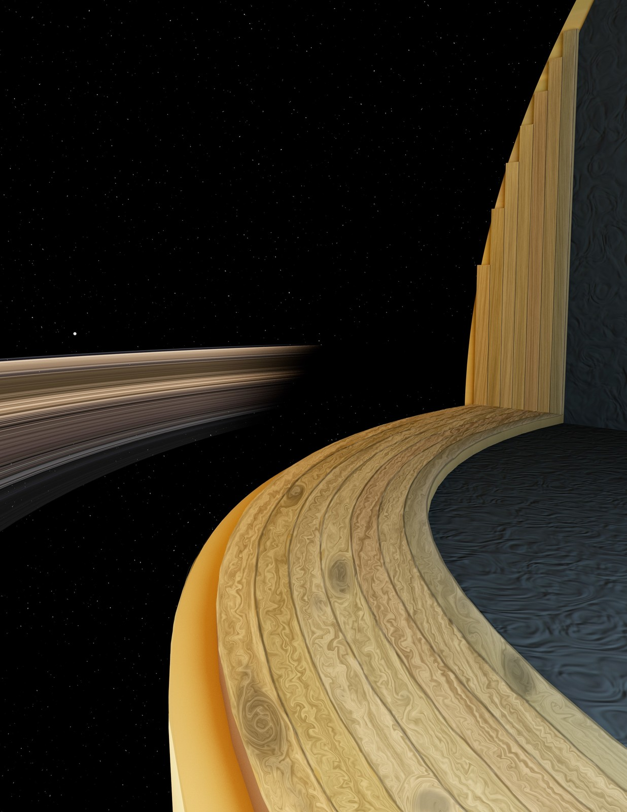 The storms within Saturn