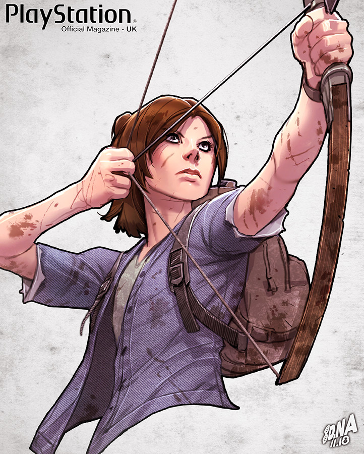 Ellie from The Last of Us Part 2 detail