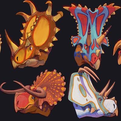 Pablo rivera ceratopsians