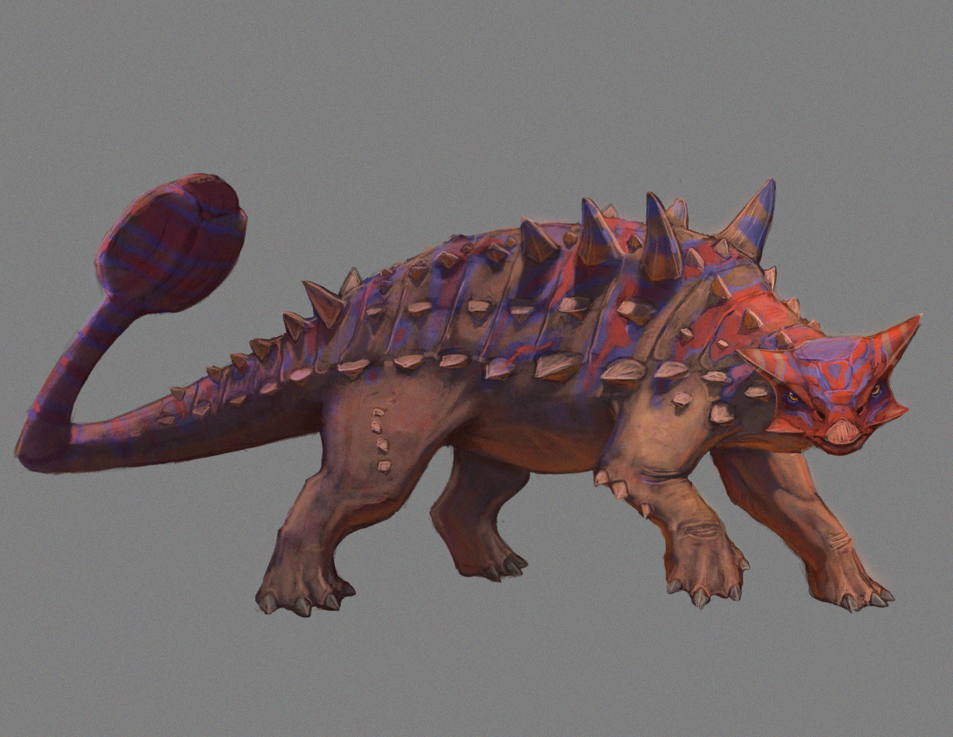 Pablo rivera ankylosaurus