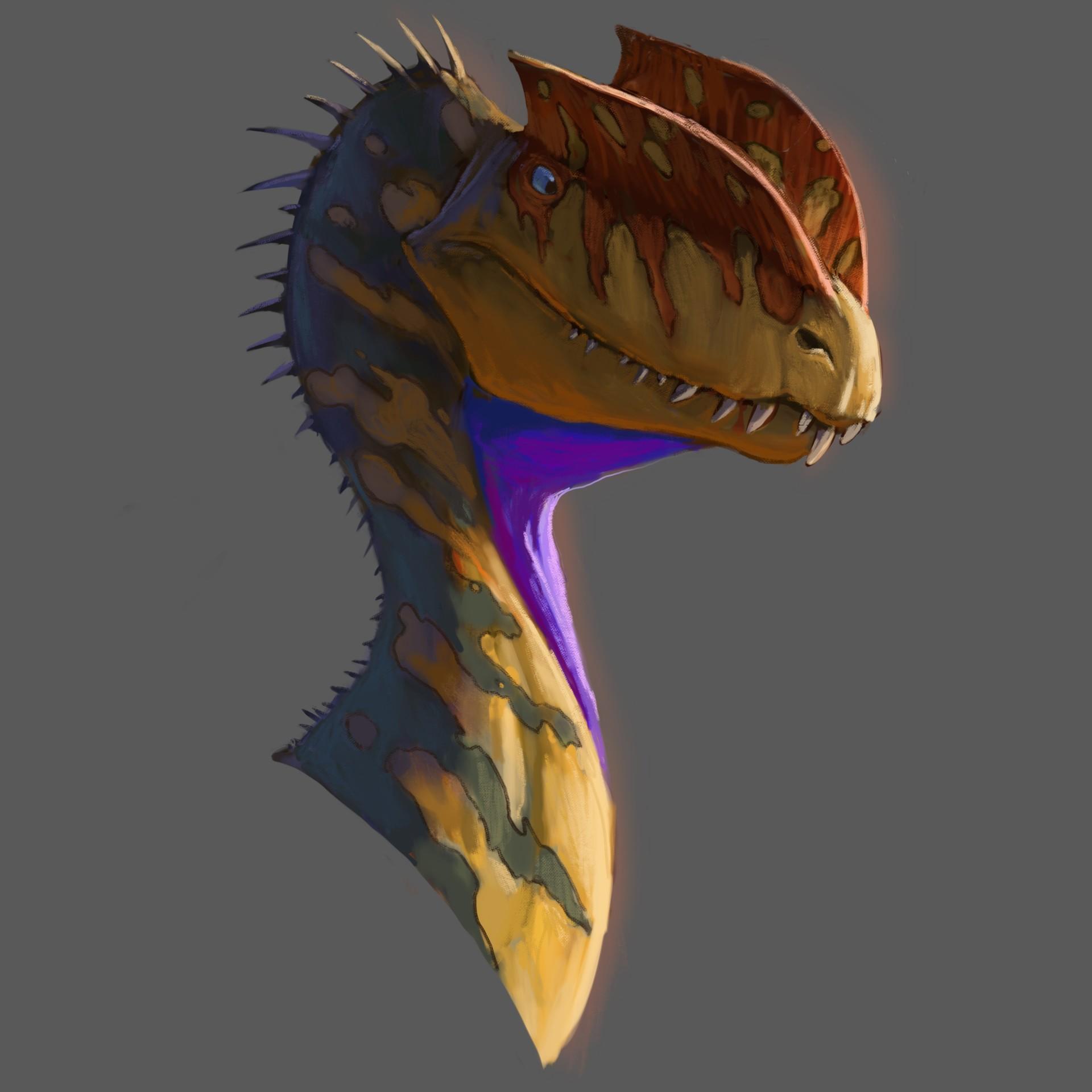 Pablo rivera dilophosaurus