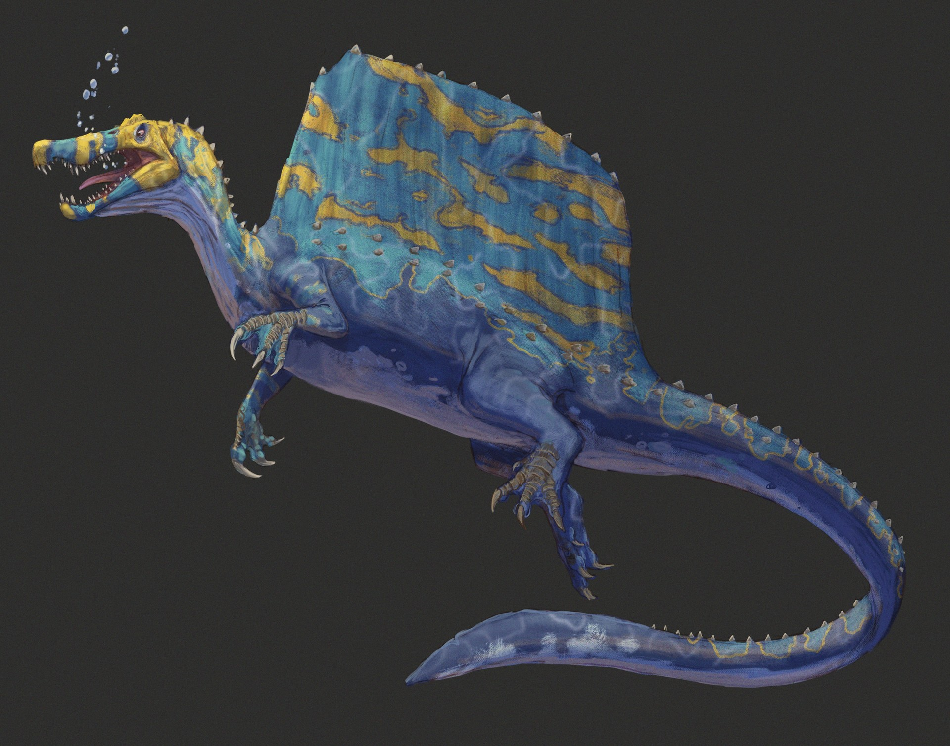 Pablo rivera spinosaurus