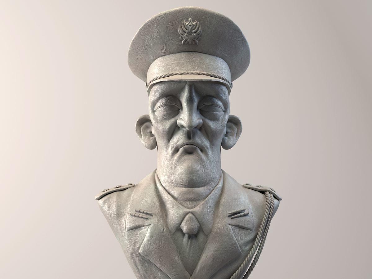 Pablo munoz gomez the general render 2