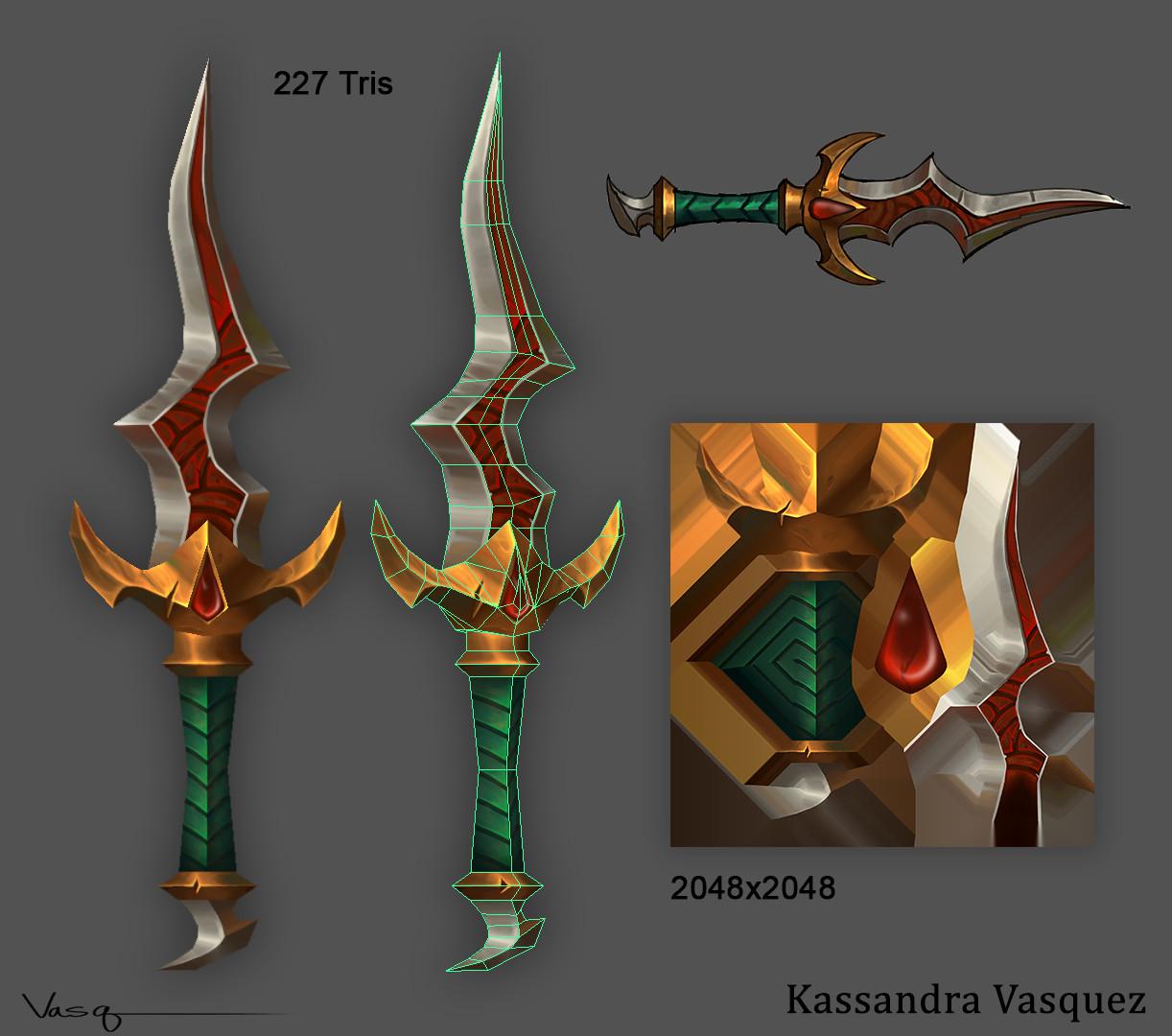 Kassandra vasquez kassandra vasquez dagger