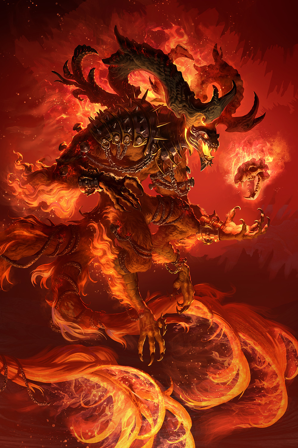 Ifrit by McLean Kendree : ImaginaryDemons