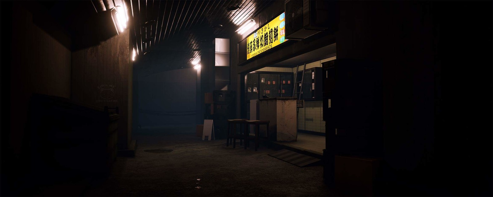 A WIP render inside of Unreal engine to see how the mood would work out