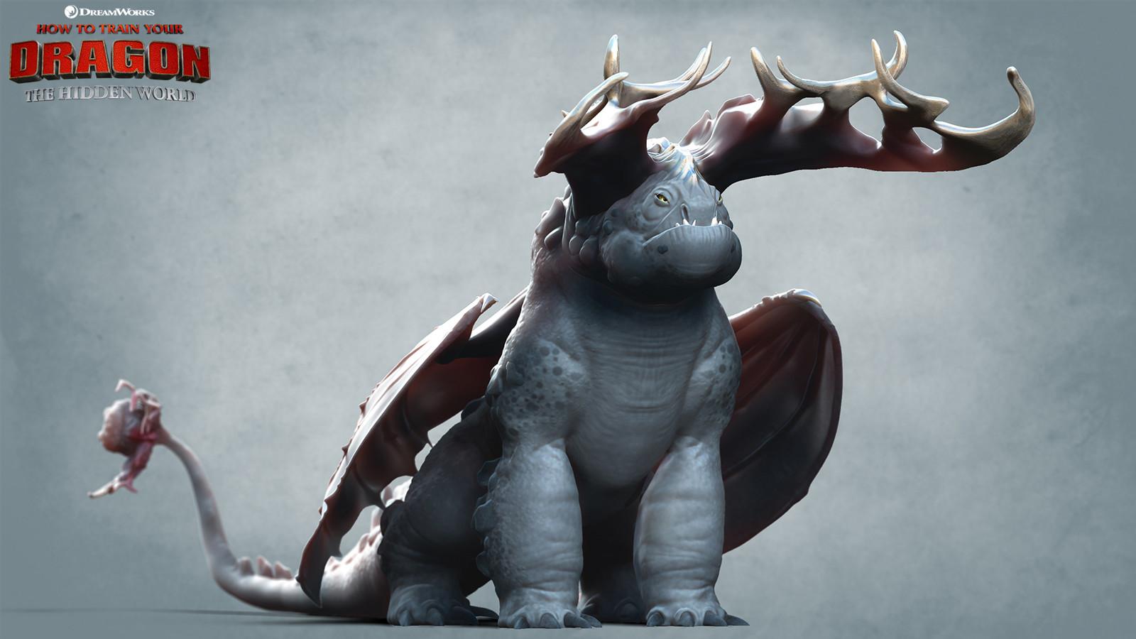 Artstation How To Train Your Dragon The Hidden World Crimson