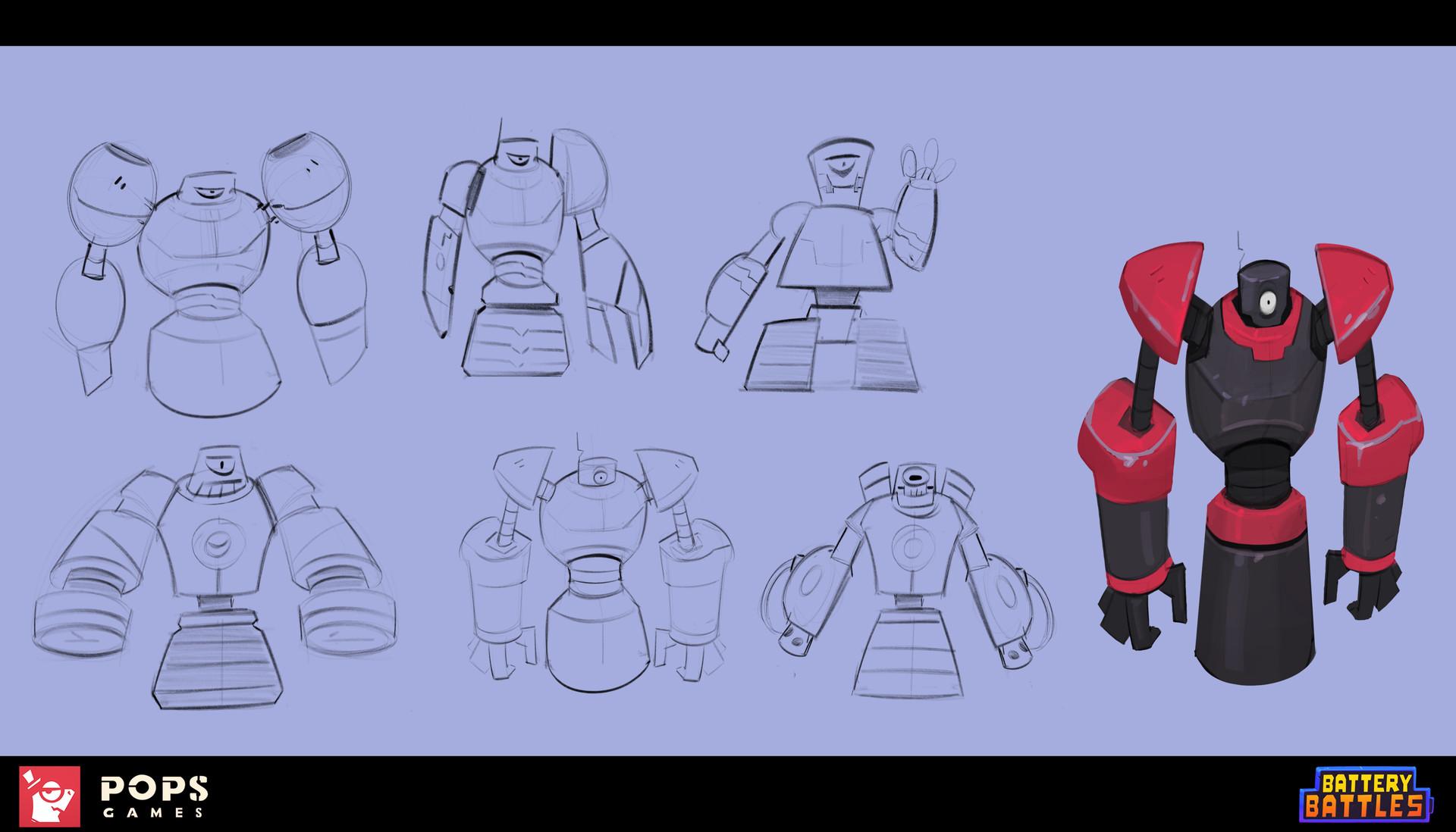 Drakhas oguzalp donduren 21 robo sketches 21