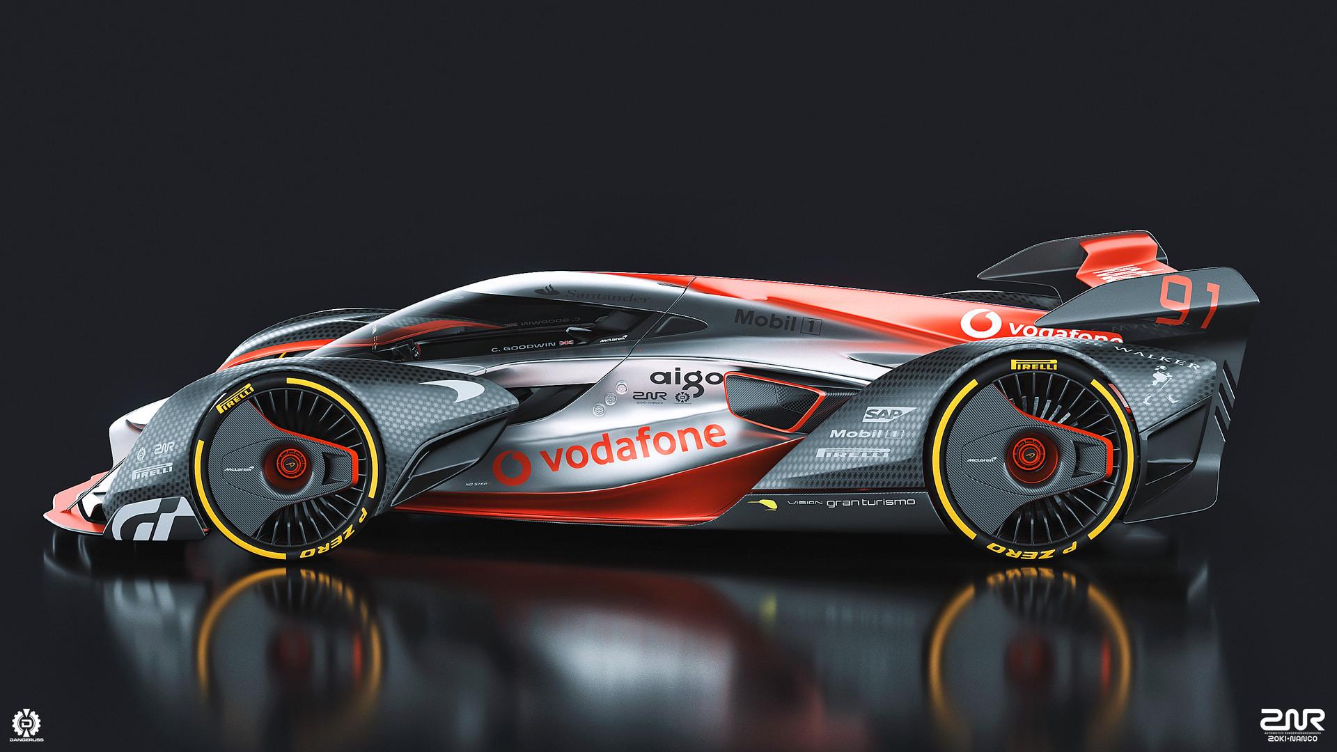 ArtStation - McLaren Ultimate Vision Gran Turismo, Zoki