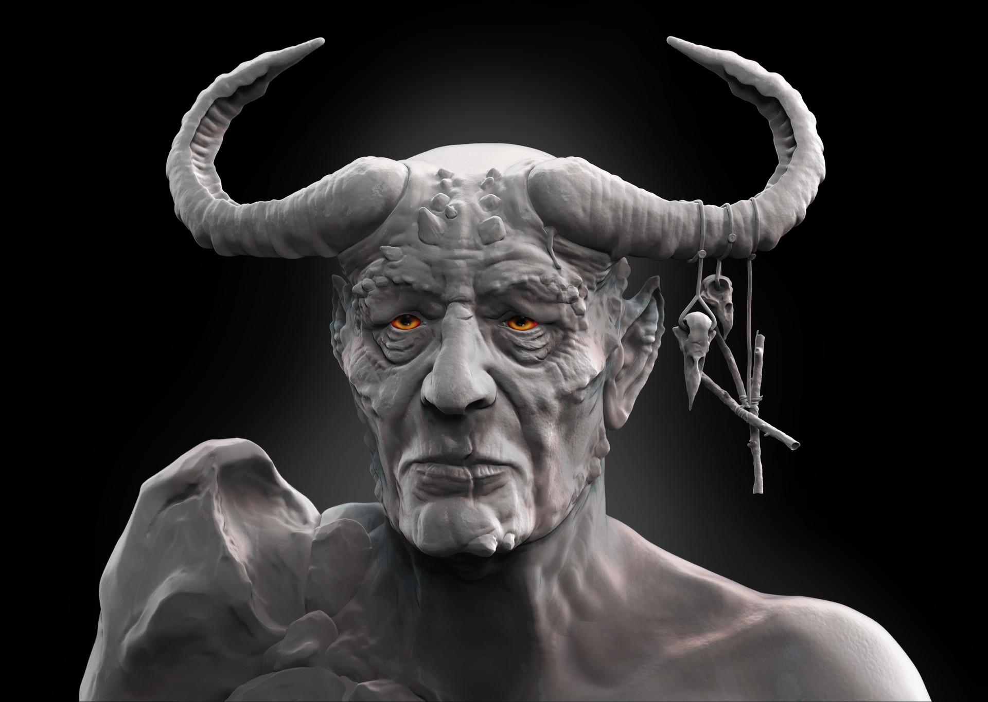 Harry heywood warlock render png2