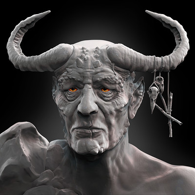 Harry heywood warlock render png2