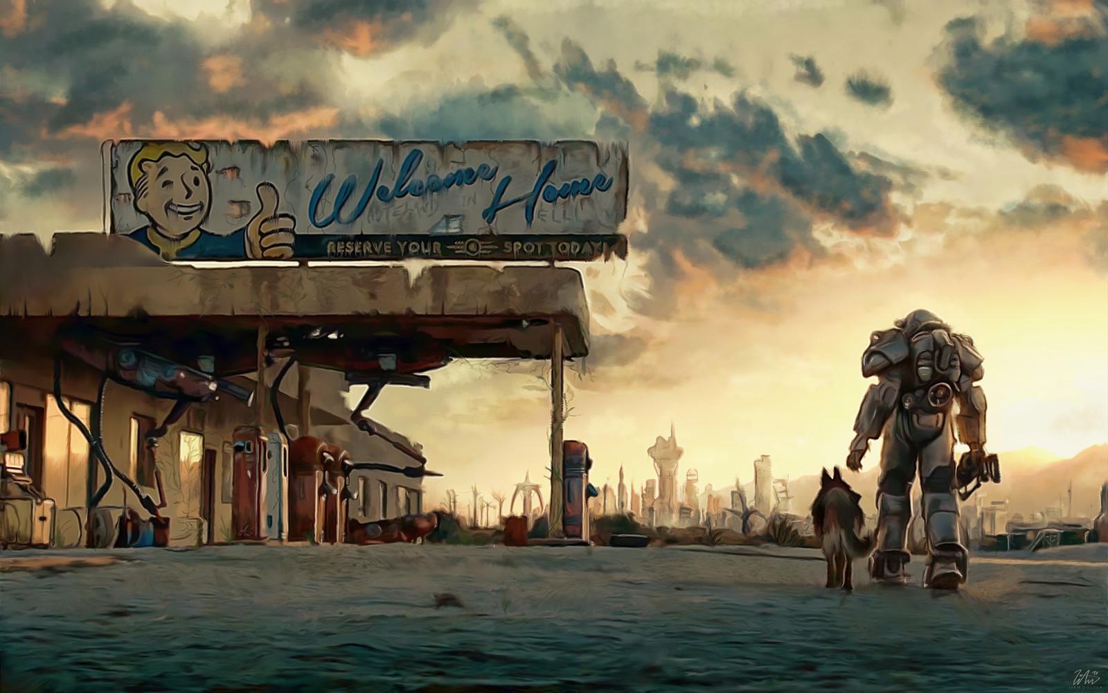 Fallout 4 Wanderer