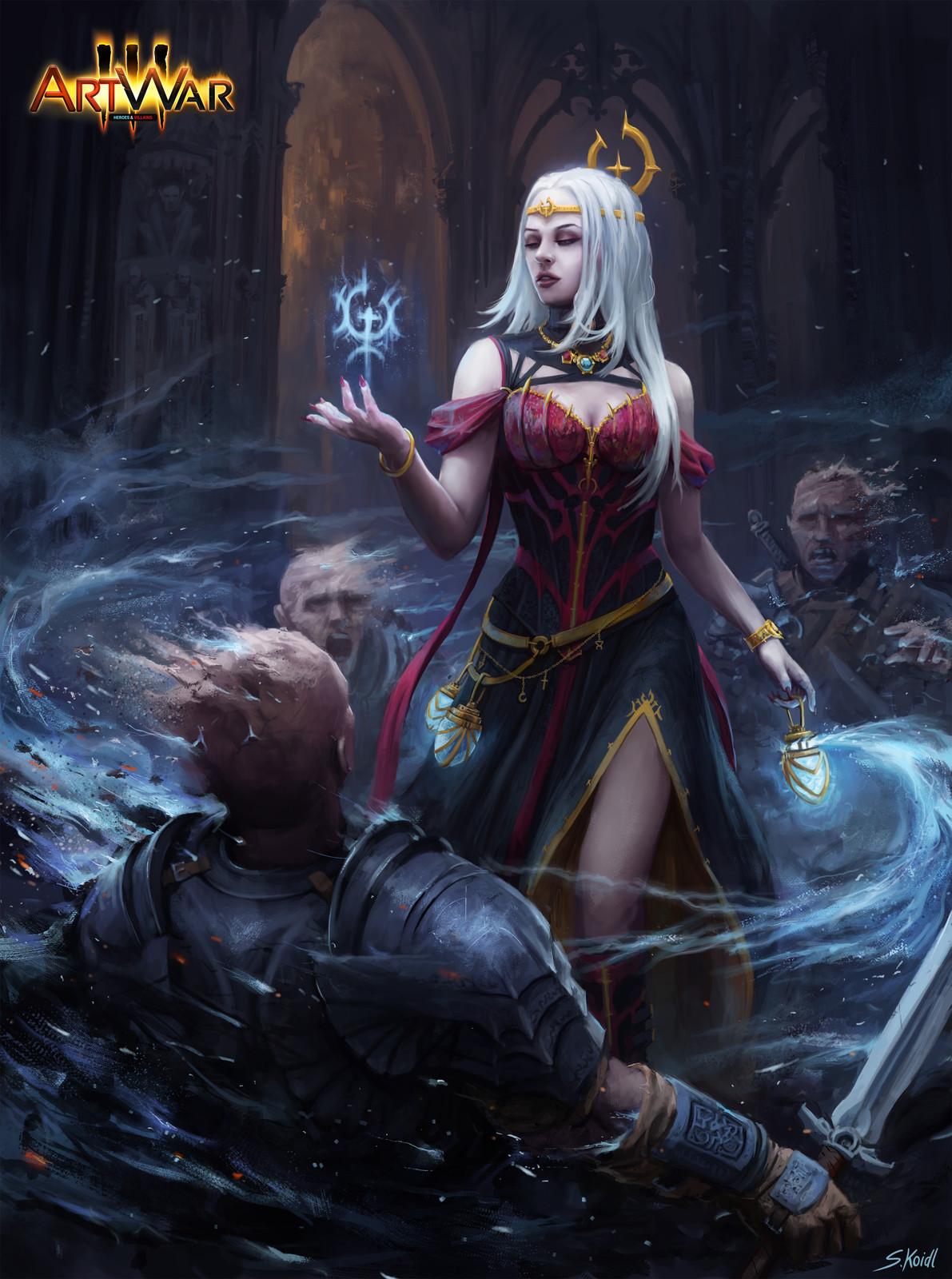 ArtWar 3 - Villains - Lucia Nox Final Illustration