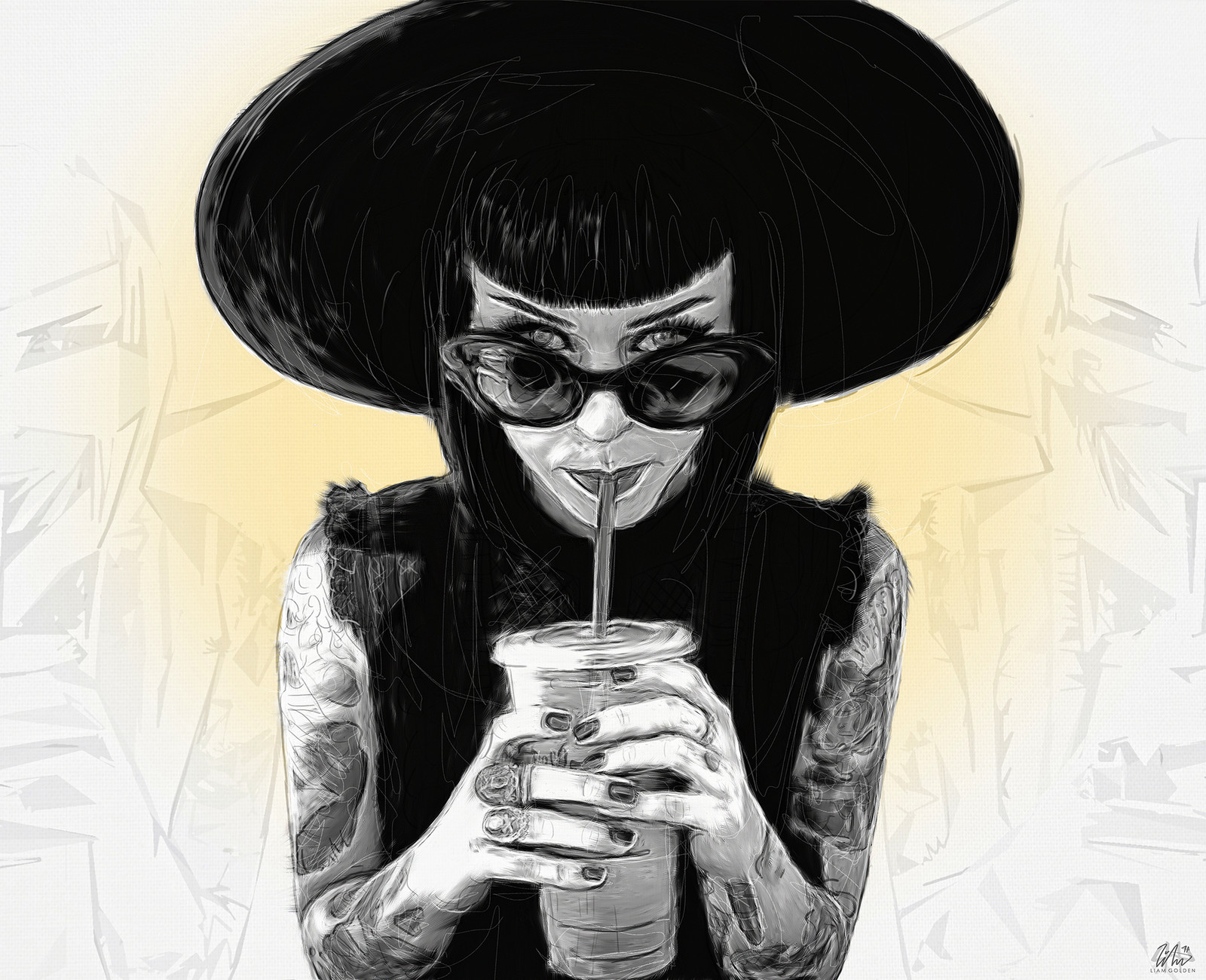 Eliza Sidney - Slurp - Illustration