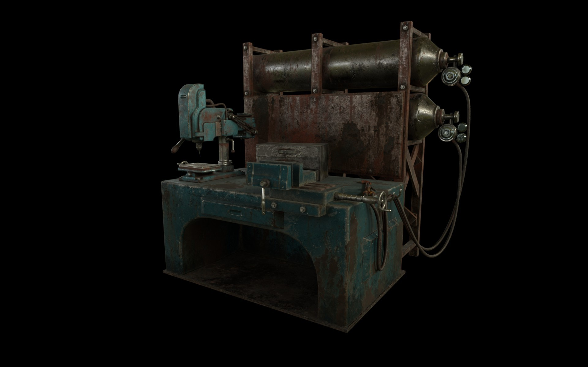 Astonishing Artstation Fallout 4 Weapons Workbench Rickey Barnes Caraccident5 Cool Chair Designs And Ideas Caraccident5Info