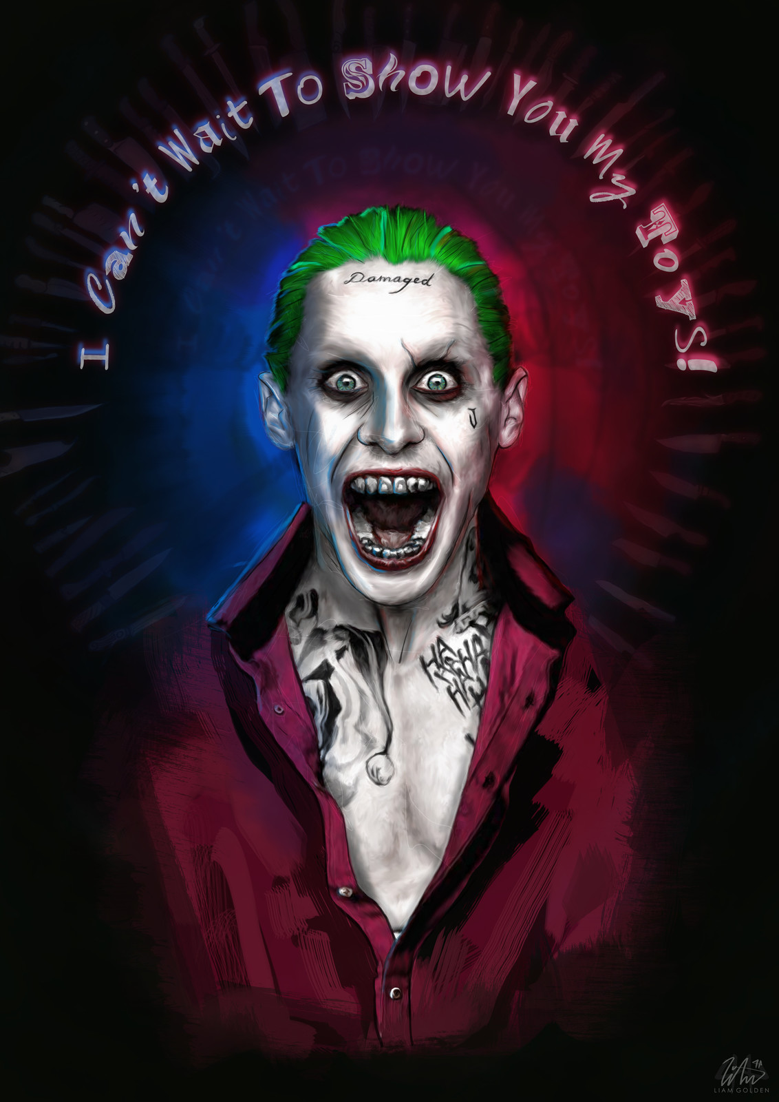 Jared Leto as The Joker - Suicide Squad