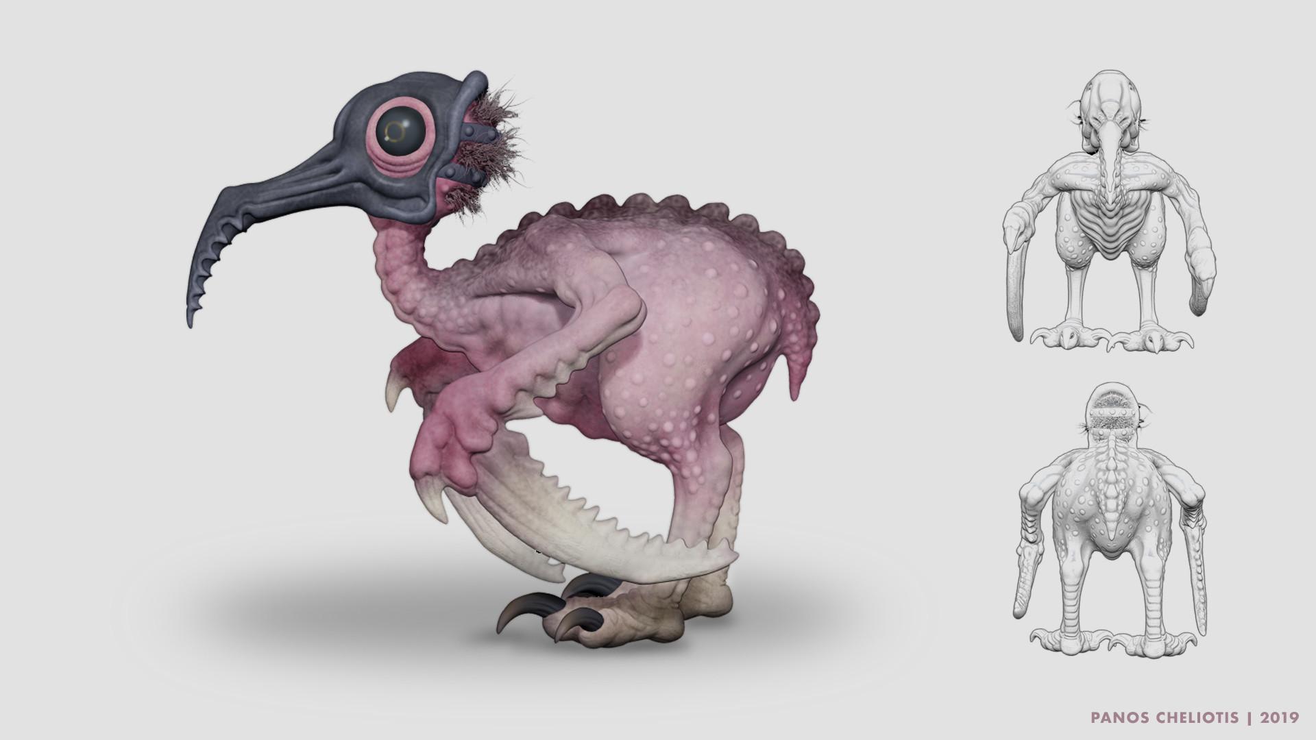 Panos cheliotis ornivore concept