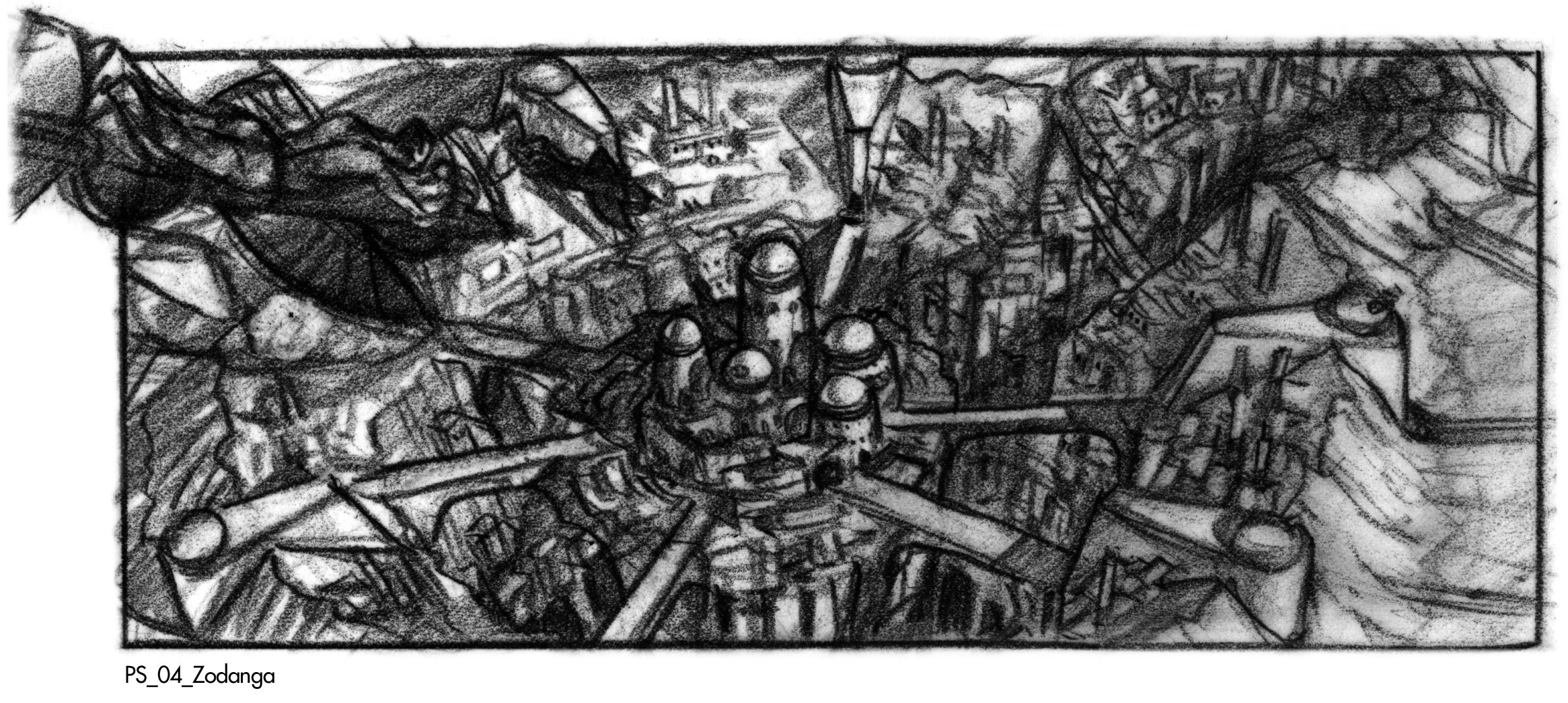 Another thumbnail, this one introducing the idea of the secondary crater, which makes for a more interesting city footprint.
