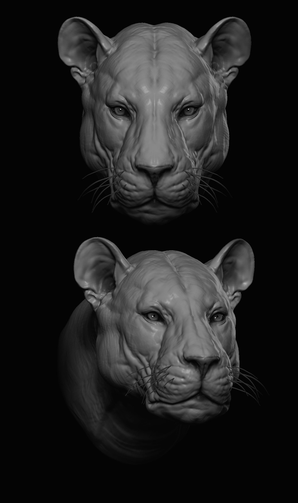 Early zbrush renders